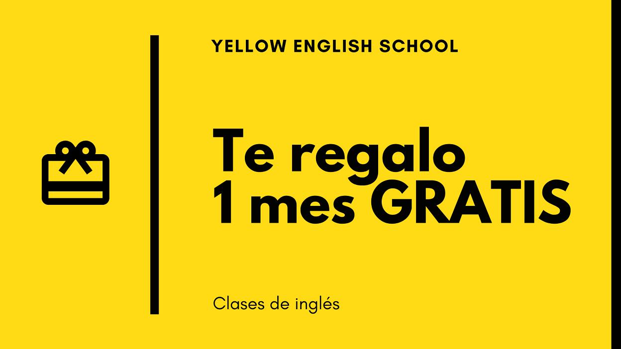 Regala 1 mes de inglés
